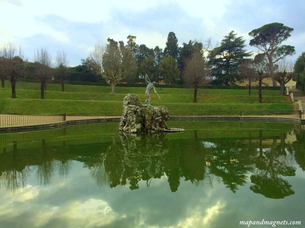 Boboli Gardens reflections