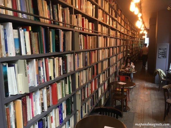 merci-used-book-cafe-hallway-paris