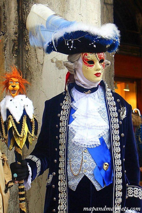 Venice carnival costume man