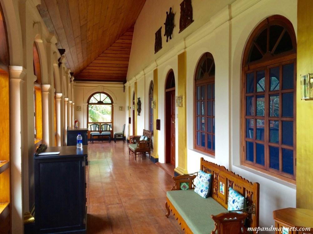 Taj Kumarakom hotel lobby