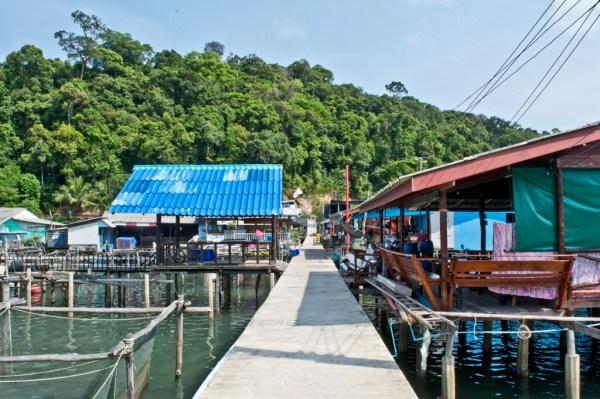 Ao Yai in Koh Kood island in Thailand