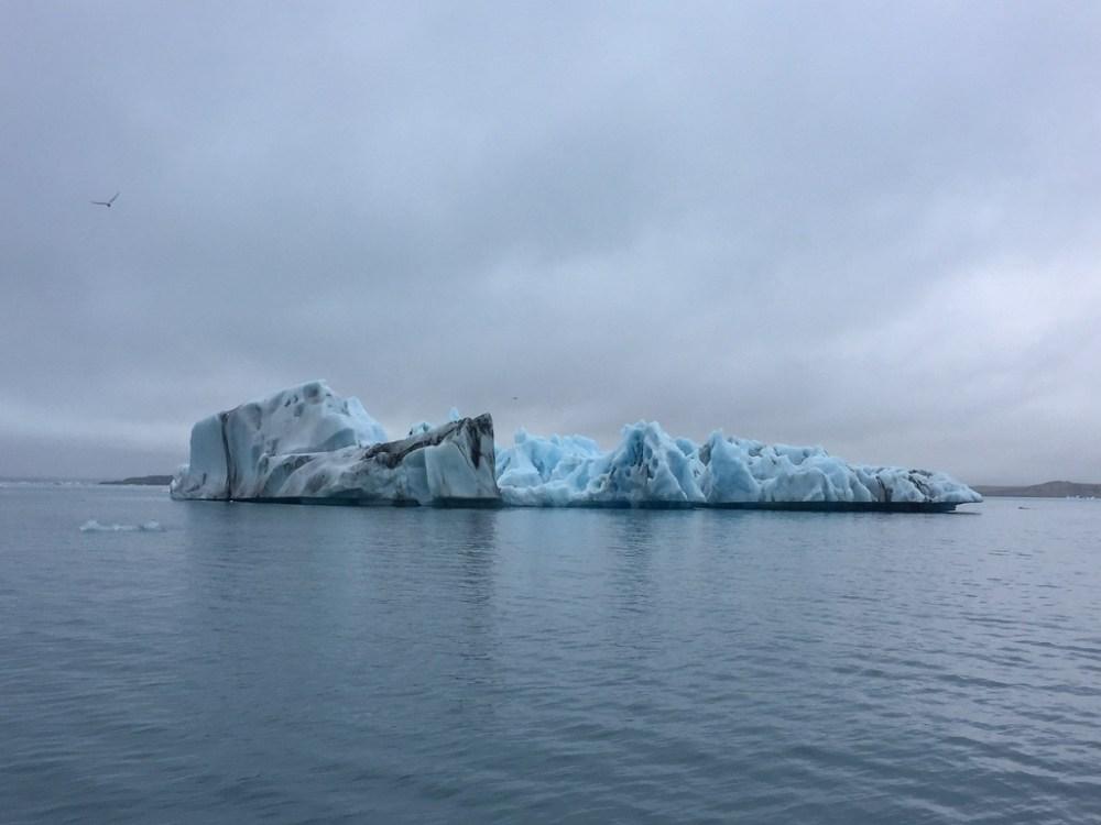 Icebergs at Jokulsarlon glacier lagoon in Iceland