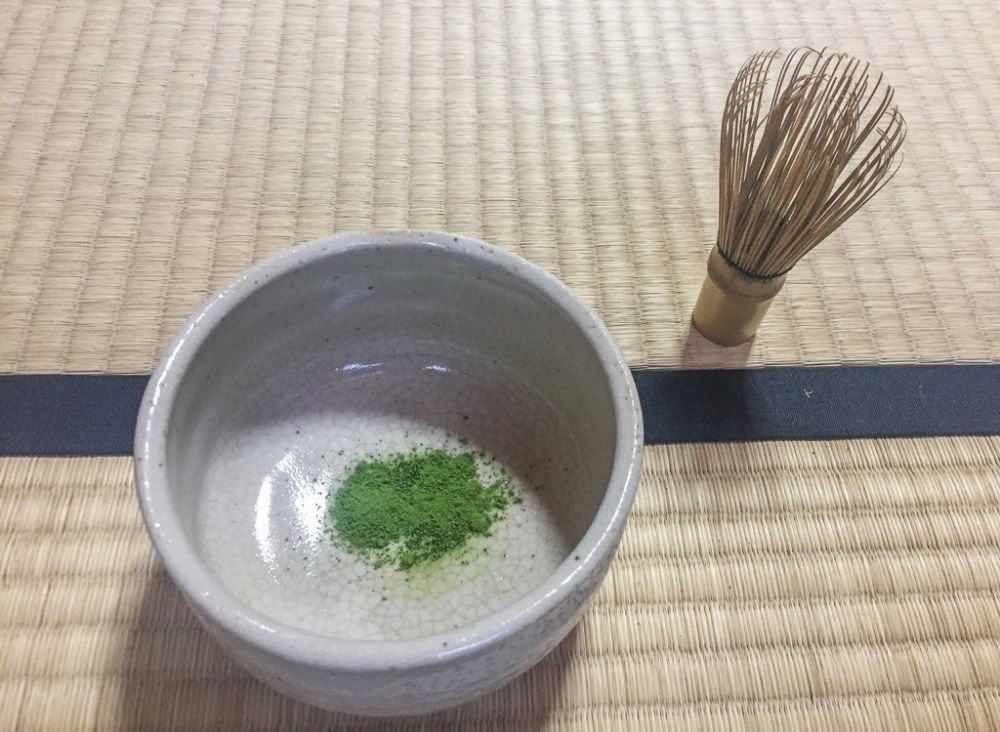 Tea ceremony in Japan
