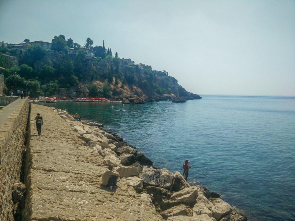 Coastal town of Antalya in Turkey