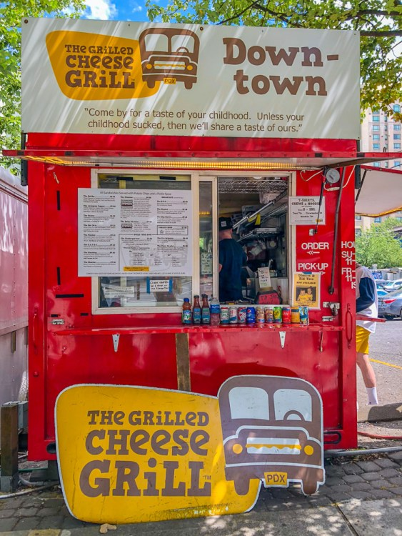 Grilled Cheese Grill food cart in Portland, Oregon