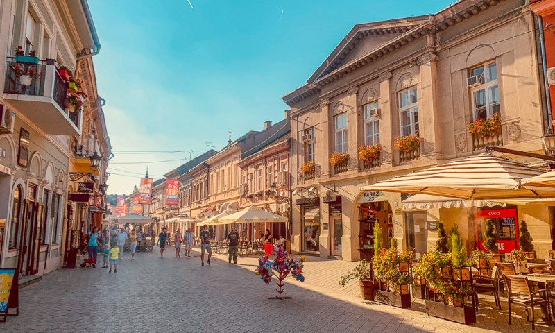 Streets of Novi Sad