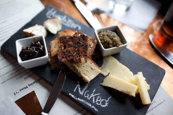Black Trumpet Cheese Plate