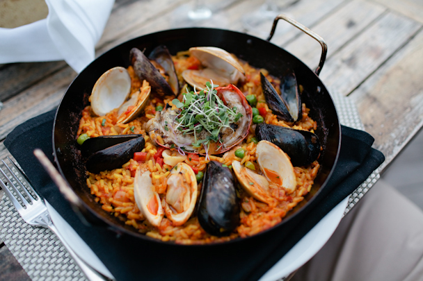 Paella at Sea Glass
