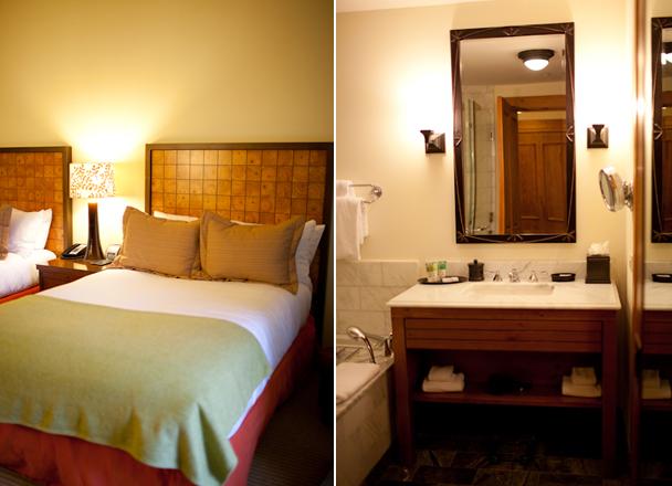 Stowe Mountain Lodge Room