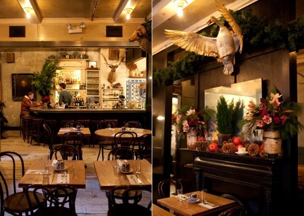 Freemans Restaurant  New York NY  Map  Menu