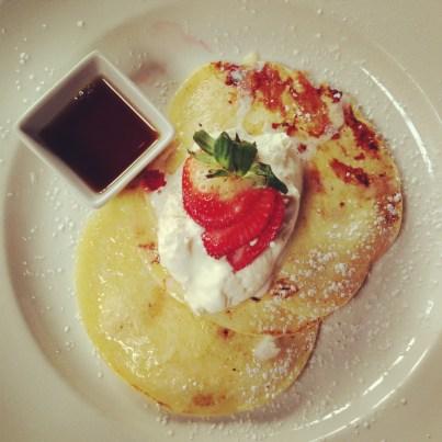Pancakes at Vignola