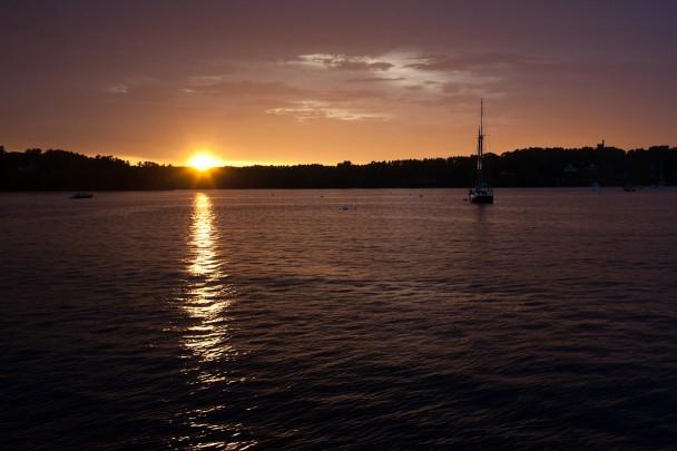 Freeport Maine Sunset