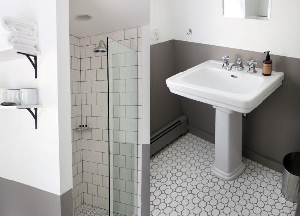 Bathroom at the Salt House Inn
