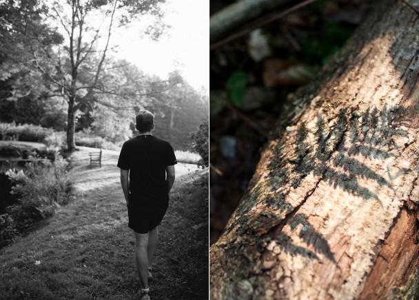 Hiking at Windham Hill Inn