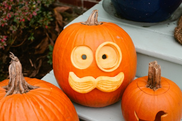 Moustached Pumpkin