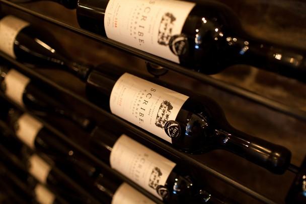 Scribe Winery Bottles