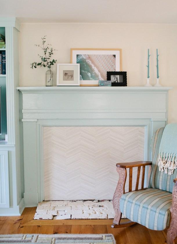 Wallpaper Fireplace