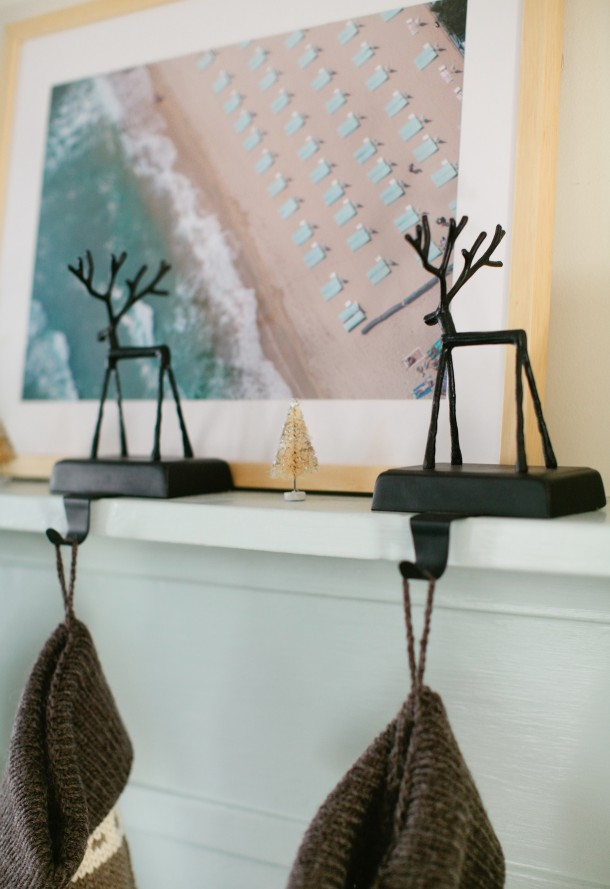 Reindeer Stocking Holders