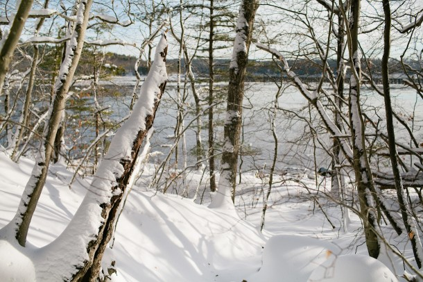 Winter Sheepscot River Maine