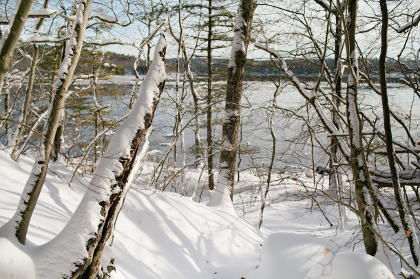 Winter Sheepscot River Maine