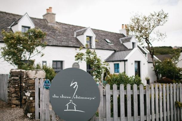 The Three Chimneys Skye