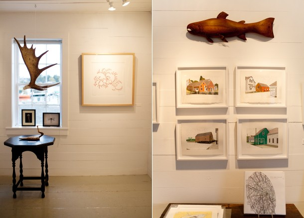 Hopkins Wharf Gallery North Haven ME