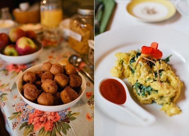 Nebo Lodge Breakfast