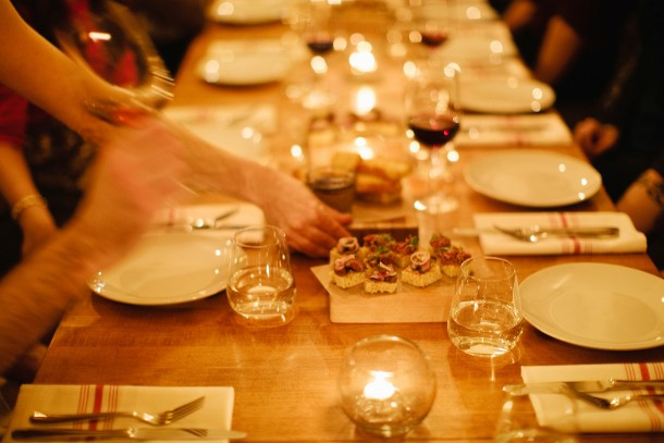 Hunt and Alpine Staff Party at Piccolo, by Meredith Perdue