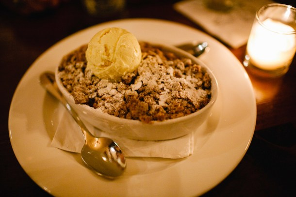 Apple Crisp White Hart Inn