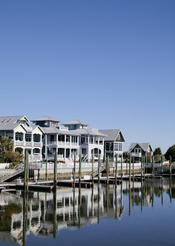 Bald Head Island, NC via Map & Menu
