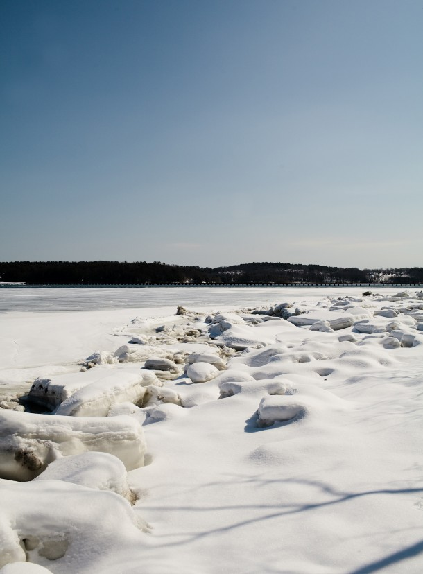 Frozen Sheepscot