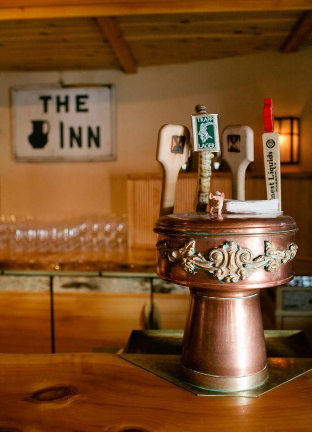 Pitcher Inn, Warren Vermont - Map & Menu