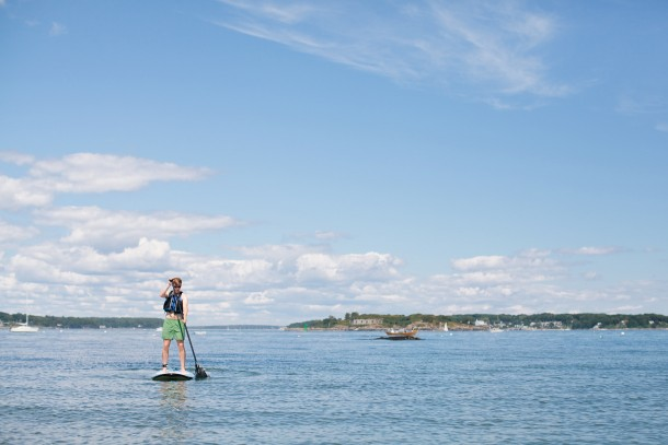 Paddleboarding-in-Maine