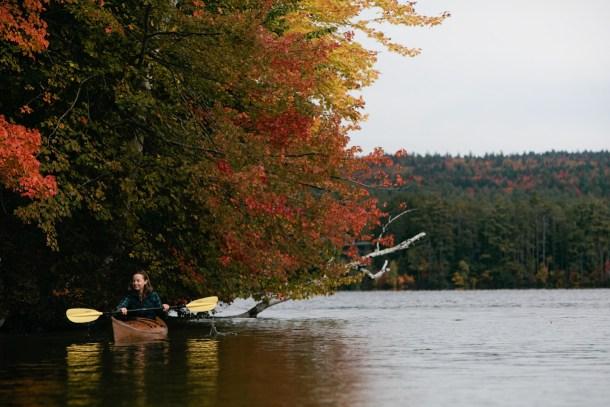 Meredith Kayaking