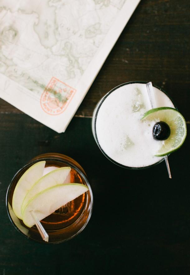 Hunt and Alpine Cocktails