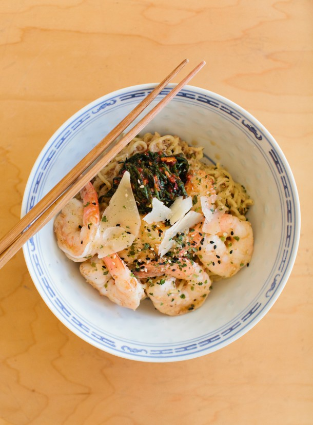 Seafood Yakisoba at Anju