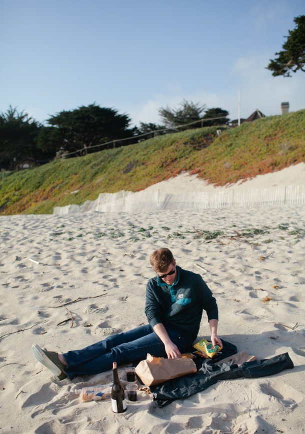 Beach Picnics Carmel California