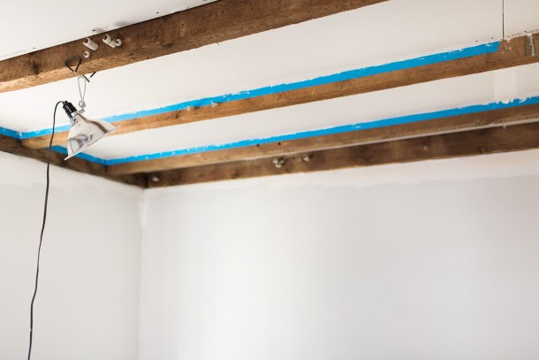Exposed 18th Century Beams by Map & Menu