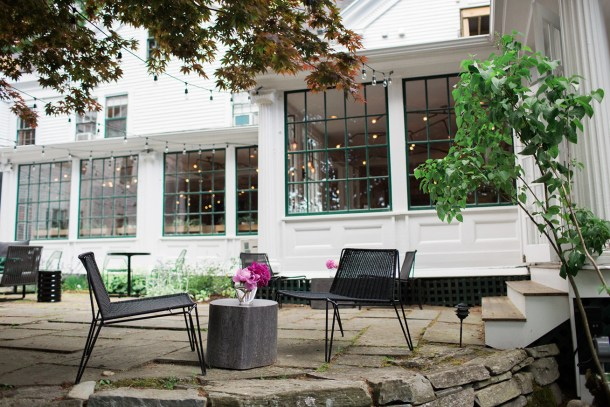 Whitehall - Camden, Maine Hotel by Map & Menu