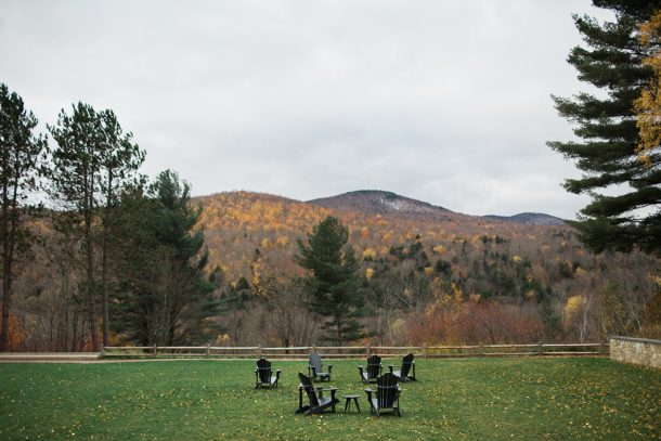 Fall at Topnotch Resort, Stowe, Vermont