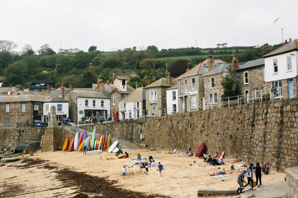 Mousehole Cornwall Travel Guide by Map & Menu