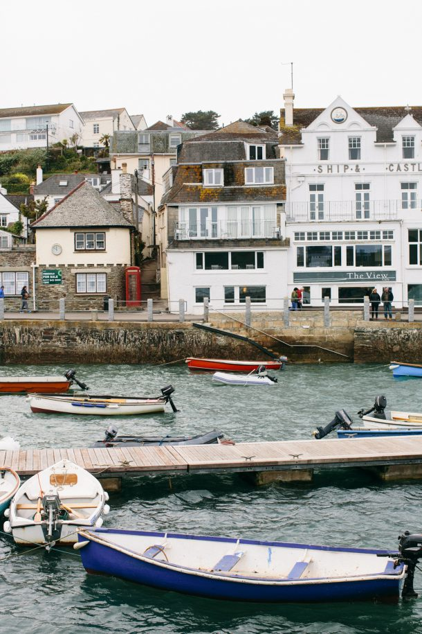 St. Mawes Cornwall England Travel Guide by Map & Menu