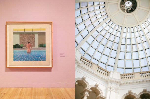 Hockney at Tate Britain