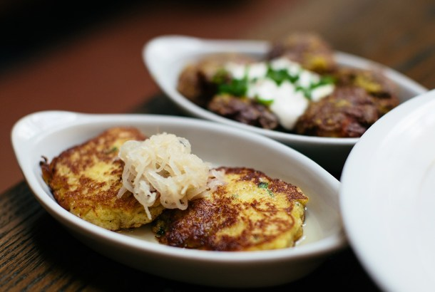 Turnip Cakes at The Grey