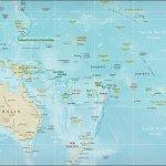 Maps Of Physical Map Of Oceania 2009 Mapa Owje Com