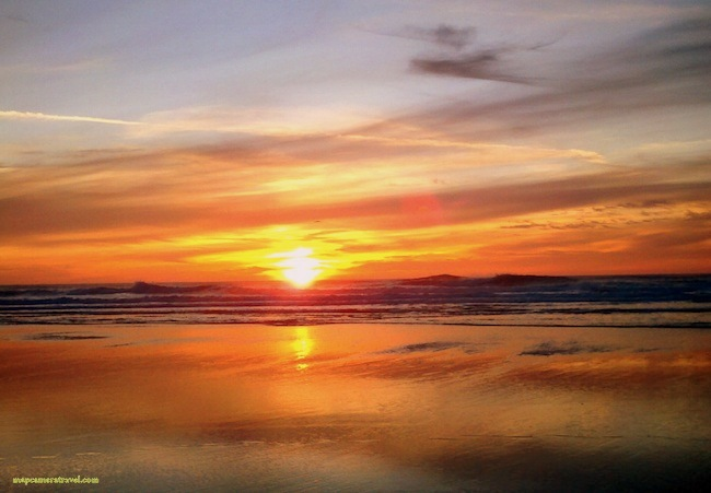 ocean beach sunset 1