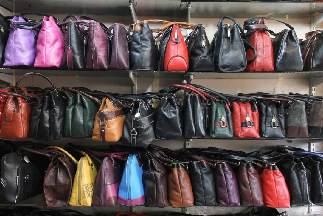 Dharavi leather market