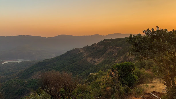 Sunset Views at Mahabaleshwar