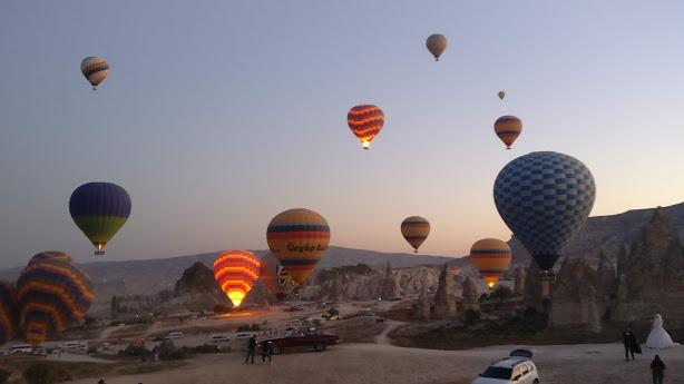 Tips for Hot Air  Balloon rides in Turkey