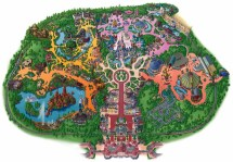 Disneyland In Paris Map Collection